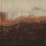 5-luik, gemengde techniek  op paneel, in lijst 94 x 21